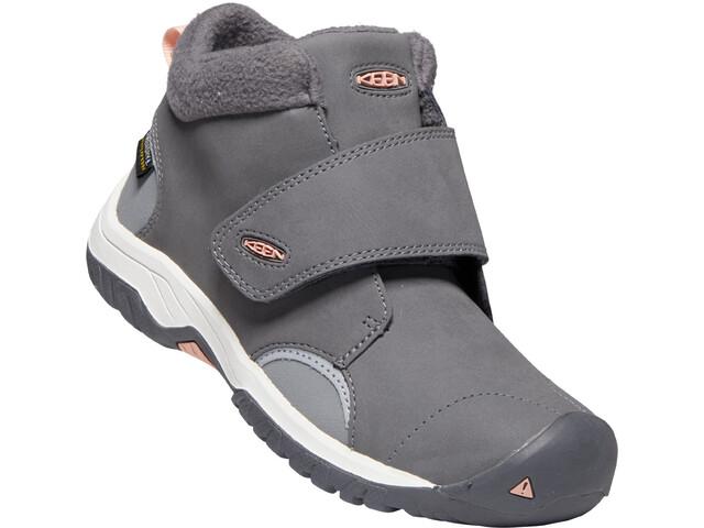 Keen Kootenay III Mid WP Schuhe Kinder steel grey/dusty pink